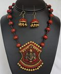 Clay Indian jewellery